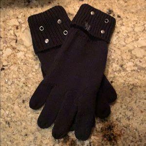 Harley-Davidson® Grommet-Rivets Cuffed Knit Gloves
